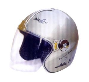 半盔系列:TK-207(银色)