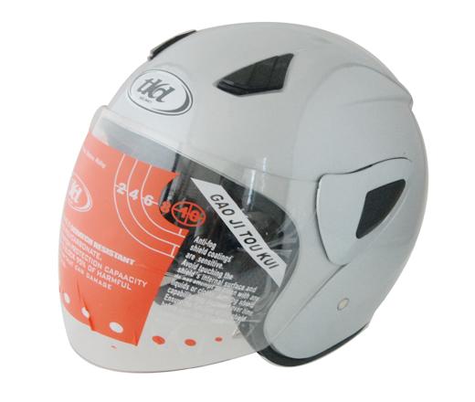 半盔系列:TKD-202银色